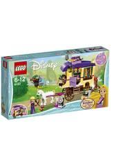 Lego Princesas Caravana de Viaje de Rapunzel 41157