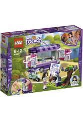 Lego Friends Puesto de Arte de Emma 41332