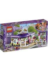 Lego Friends Il Caffè degli artisti di Emma 41336