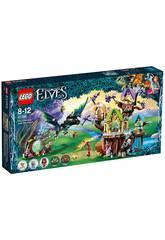 Lego Elfen Atacke der Fledermäuse gegen den Baum des Elfensterns 41196