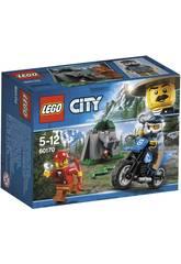 Lego City La poursuite sur le Terrain 60170
