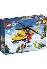 Lego City Helicóptero Ambulancia 60179