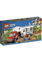 Lego City Pickup e Caravan 60182