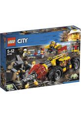 Lego City Mina Trivella Pesante da Miniera 60186