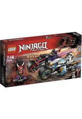 Lego Ninjago Course de Rue de la Jaguar Serpent 70639