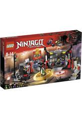 Lego Ninjago Cuartel General de H D G 70640
