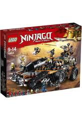 Lego Ninjago Turbo Cingolato 70654