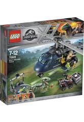 Lego Jurassic World La Poursuite en Hélicoptère 75928