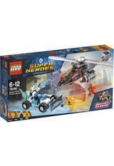 Lego Super Héroes Persécution Gélida Après la Force de la Vitesse 76098