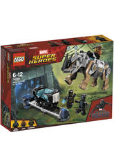 Lego Super Heroes Duell mit Rhino in der Mine 76099