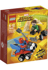 Lego Super Héroes Mighty Micros Scarlet Spider VS. Sandman 76089