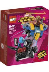 Lego Super Heroes Mighty Micros Starlord vs. Nebula 76090