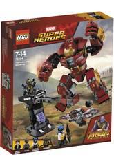 Lego Super Héroes Incursion Demoledora del Hulkbuster Smash-Up 76104