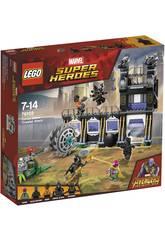 Lego Super Heroes Atacke der Entkernungsmaschine von Corvus Glaive 76103