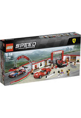Lego Speed Champions Garage Ferrari 75889
