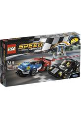 Lego Speed Champions Ford GT 2016 et Ford GT40 1966 75881