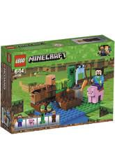 Lego Minecraft La Granja de Melones 21138