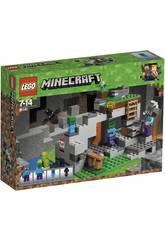 Lego Minecraft La Caverna dello Zombie 21141