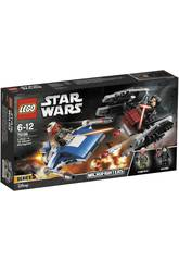 Lego Star Wars Microfighter Ala A vs. Silencieux Tie 75196
