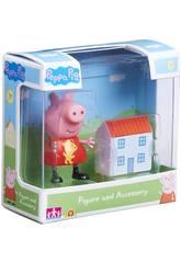 Peppa Pig Figur mit Zubehör Bandai 06381