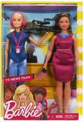 Barbie Presentadora de Noticias Mattel FJB22
