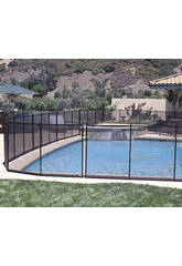 Barrière de Protection pour Piscines 366 x 125 Gre 779700