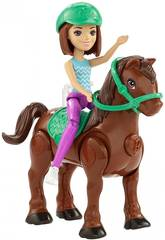 Barbie On The Go bambola con Mini Pony assortimento Mattel FHV60