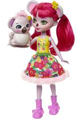 Enchantimals Karina il Koala e Cucciolo Dab Mattel FNH24