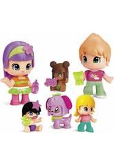 Pinypon Babys und Figuren Famosa Pack 6 700014086