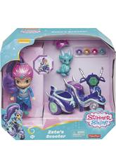 Shimmer And Shine Scooter Di Zeta Mattel FHN31