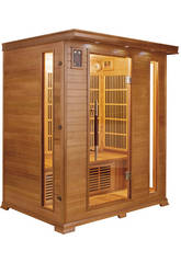 Sauna Infrarouges Luxe - 3 Places