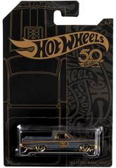 Hot Wheels Vehículos Dorados 50 Aniversario Mattel FRN33