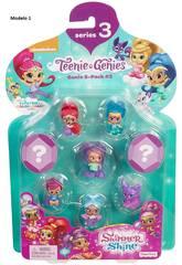 Shimmer & Shine Multi pack Geniette a sorpresa Mattel DTK53