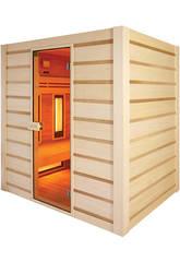 Sauna Híbrida - Infravermelho e Tradicional - Poolstar HL-HC04-K