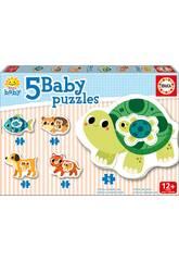 Baby Puzzle Tiere Educa 17573