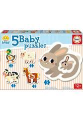 Baby Puzzle La Granja Educa 17574