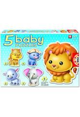 Baby Puzzle Wildtiere Educa 14197