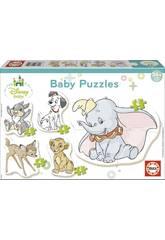 Puzzle Baby Disney Tiere Educa 17755