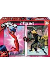 Puzzle 2x150 Miraculous Ladybug