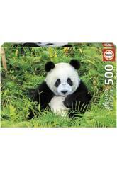 Puzzle 500 Panda Educa 17082