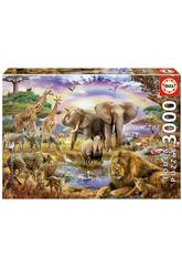 Puzzle 3000 Pace sotto l'Arcobaleno Educa 17698