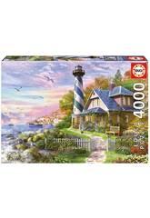 Puzzle 4000 Faro En Rock Bay Educa 17677