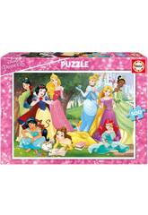 Puzzle 500 Princesses Disney Educa 17723