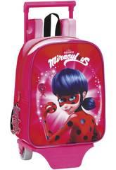 Ladybug Mochila Guardería con Carro Safta 611712280