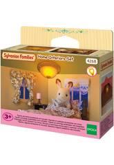 Sylvanian Families Set Décoration Lampe et Rideaux Epoch d'Enfance 4268