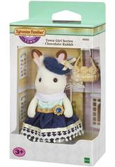 Sylvanian Town Series Niña Hermana Mayor Conejo Chocolate Epoch para Imaginar 6002