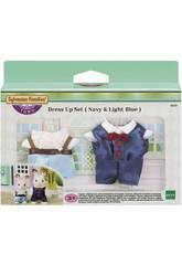 Sylvanian Town Series Set Vestidos Pope e Child Epoch para Imagine 6019
