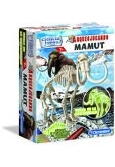 Archéojouant Mammoth Phosphorescent Clementoni 55027