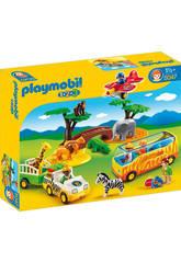 Playmobil 1.2.3 Gran Safari Africano