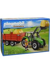 Trator Playmobil com Reboque